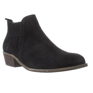 Steve Madden Tallie Chelsea Ankle Boots, Black Suede
