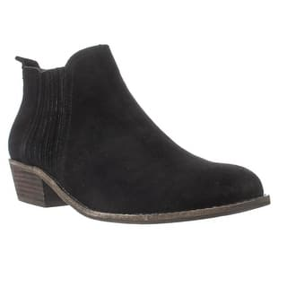 Steve Madden Tallie Chelsea Ankle Boots, Black Suede|https://ak1.ostkcdn.com/images/products/is/images/direct/f20061de318c115b99f585966fb1dbb67b621cb3/Steve-Madden-Tallie-Chelsea-Ankle-Boots%2C-Black-Suede.jpg?impolicy=medium