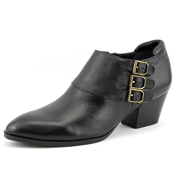 Franco Sarto Genna Round Toe Leather Bootie