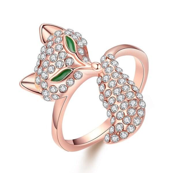 Rose Gold Plated Bastet Ring