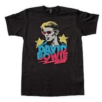 David Bowie Starman Soft T-Shirt - Large - Black