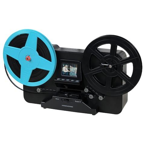 "Magnasonic Super 8/8mm Film Scanner, Converts 3"", 5"" and 7"" Super 8/8mm Movie Reels into Digital Video(FS81)"