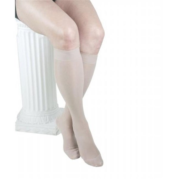 8cf6c8b1bbe Shop GABRIALLA Sheer Knee Highs - Compression (23-30 mmHg)  H-180 Large -  Free Shipping On Orders Over  45 - Overstock - 23191668