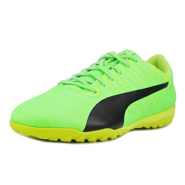 Puma evoPower Vigor 4 TT Men Green-Black-Yellow Cross Training Shoes