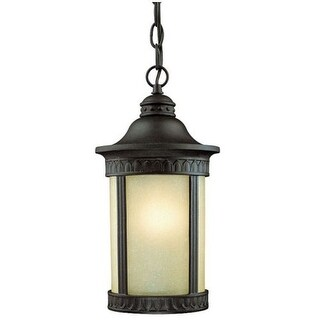 Westinghouse 67545 Craftsman / Mission 1 Light Outdoor Pendant from the Castle Inn Collection