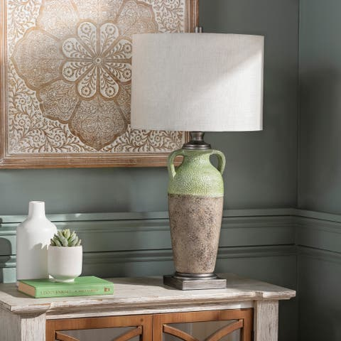 """Pompeii 27"""" Traditional Table Lamp - 27""""H x 14""""W x 14""""D"""