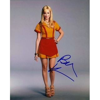 Signed Behrs Beth 2 Broke Girls 8x10 Photo autographed