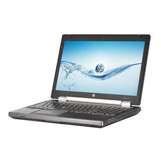 HP Elitebook 8570W Intel Core i7-3720QM 2.6GHz 3rd Gen CPU 8GB RAM 128GB SSD Windows 10 Pro 15.6-inch Laptop (Refurbished)