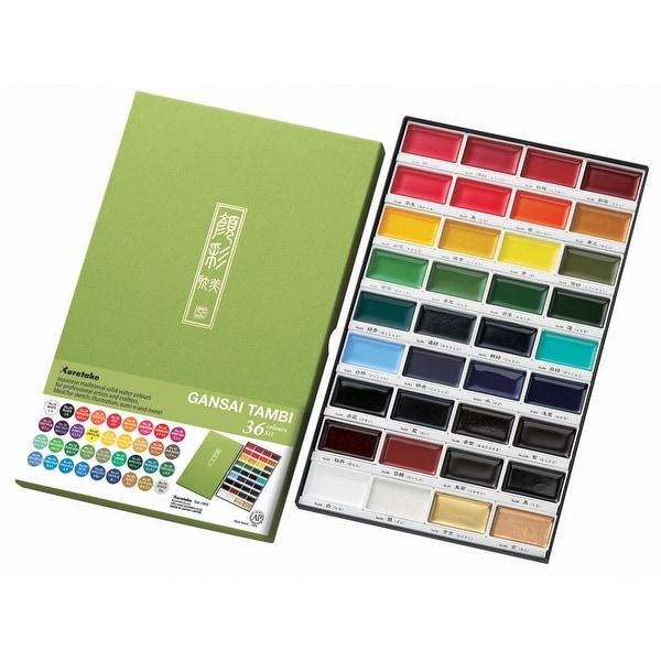 Kuretake Gansai Tambi 36 Color Set