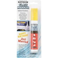 Rust-Oleum 2/3Oz Yello Glass Marker 267966 Unit: EACH