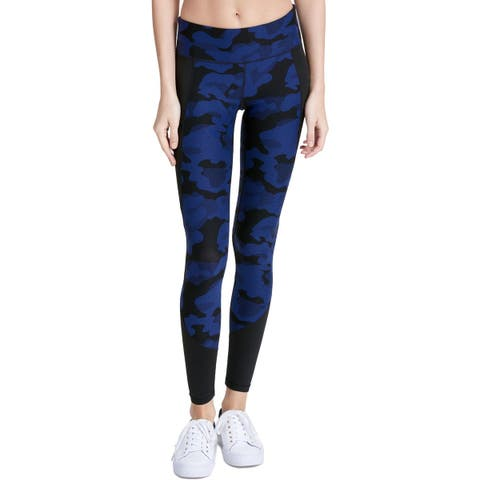 Calvin Klein Performance Womens Athletic Leggings Printed Compression