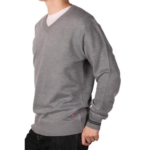 Ecko Unltd. Young Men's Solid V-Neck Sweater