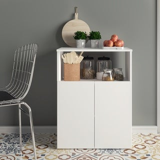 Link to Boahaus Poitiers Kitchen Pantry, 02 doors, 01 shelf Similar Items in Kitchen Carts