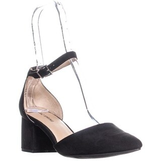 Call It Spring Aiven Block-Heel Ankle-Strap Pumps, Black - 8.5 us / 39 eu