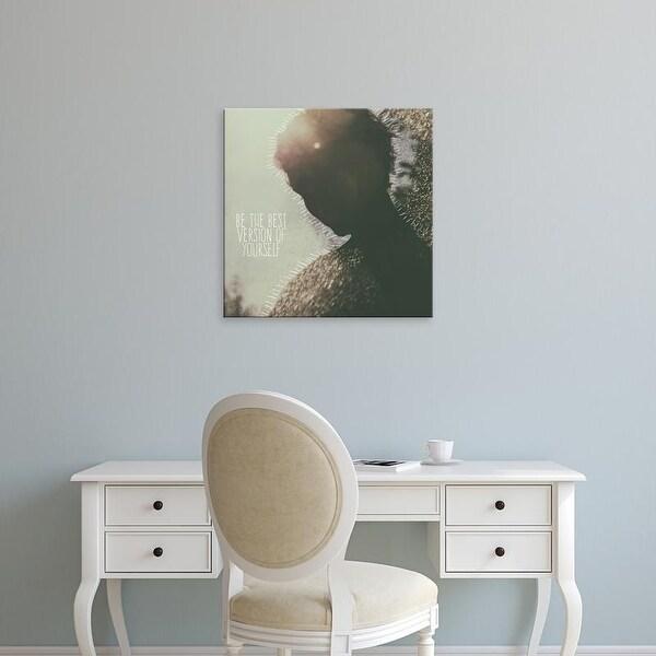 Easy Art Prints 'Be the Best Version' Premium Canvas Art