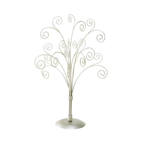 11 Arm Table Top Metal Card Tree