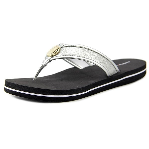 Tommy Hilfiger Clove Women Open Toe Synthetic Thong Sandal