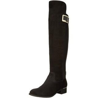 Calvin Klein Womens Cyra Closed Toe Knee High Fashion Boots Fashion Boots