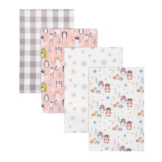 Link to Winter Pals 4 Pack Flannel Receiving Blankets Similar Items in Baby Blankets