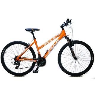 "Fuji Adventure ST 15"" Women's 26"" Hardtail MTB Bike Shimano 3 x 7s Orange NEW"