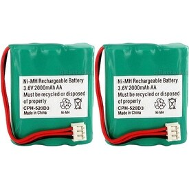 GE / RCA 52699 (2-Pack) Replacement Battery