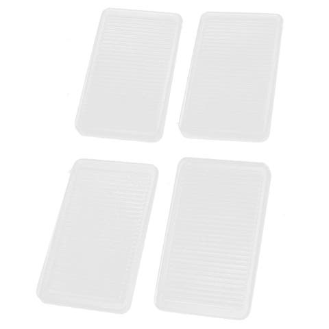 Unique Bargains Rubber Non Skid Slip Floor Surface Furniture Protective Pad Cushion 4 Pcs