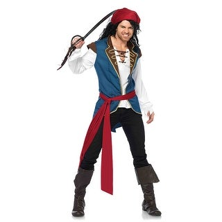 Mens Pirate Scoundrel Jack Sparrow Costume