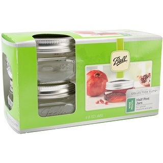 Ball Wide Mouth Canning Jars 4/Pkg