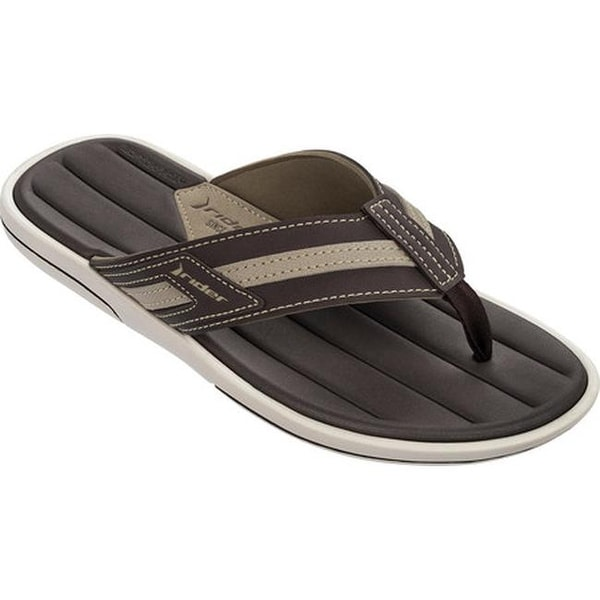 a2456bdeb870 Shop Rider Men s Rimini III Thong Sandal Beige Brown - On Sale - Free  Shipping On Orders Over  45 - Overstock - 14667540