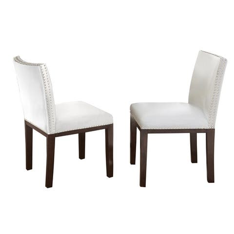 Strick & Bolton Hugo Hardwood Dining Chair (Set of 2)