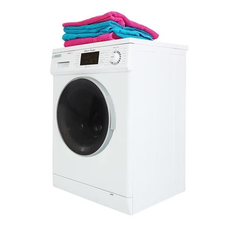 All-in-One 13 lbs 1200 RPM Compact 2016 Combo Washer Dryer with Optional Condensing/ Venting, Sensor Dry, Auto Water Level