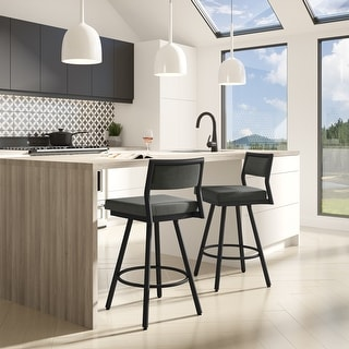 Link to Amisco Jacob Swivel Counter and Bar Stool Similar Items in Dining Room & Bar Furniture