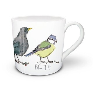 Madeleine Floyd Mixed Birds 2 9 oz. Fine China Mug, Coffee & Tea by Lang Compan