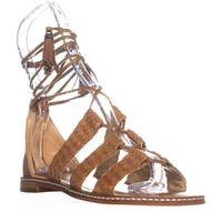 MICHAEL Michael Kors Monterey Gladiator Flat Sandals, Acorn - 5.5 us / 35.5 eu