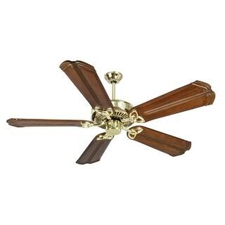 "Craftmade K10981 CXL 56"" 5 Blade Energy Star Indoor Ceiling Fan - Blades Included - polished brass"