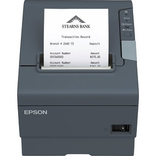 Epson Direct Thermal Printer - Monochrome - Receipt Print - 11.81 (Refurbished)