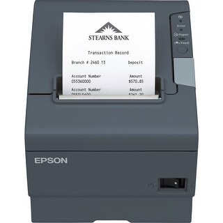 Epson Direct Thermal Printer - Monochrome - Receipt Print - 11.81 in/s Mono - 4 KB - USB - Serial --NEW