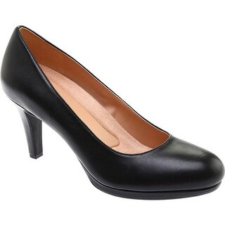 Naturalizer Women's Michelle Pump Black Sheep Premium Leather