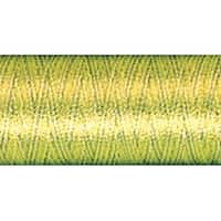 Variegated -  Bright Green - Sulky Rayon Thread 40Wt 250Yd