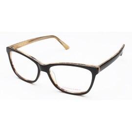 Judith Leiber Women's Classics Eyeglasses Onyx/Marble - S