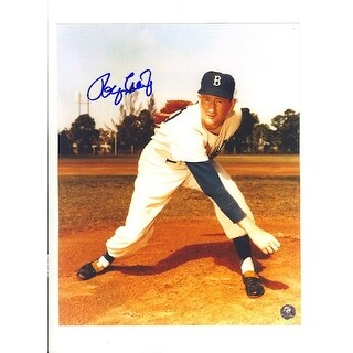 Autographed Roger Craig Baseball Player  Brooklyn Dodgers 8x10 Photo