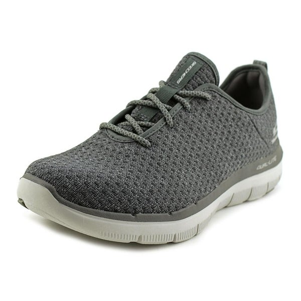 Skechers Flex Advantage 2.0 Cravy Men Round Toe Canvas Sneakers