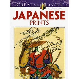 Dover Publications-Creative Haven: Japanese Prints