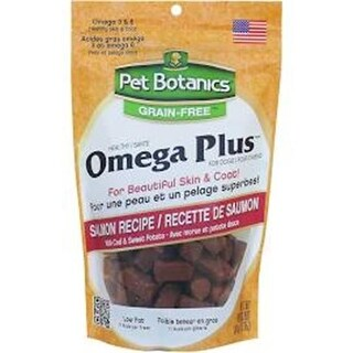 12 oz Pet Botanics Omega Treats for Dogs, Salmon Recipe