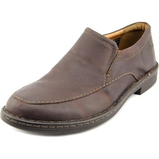 Clarks Kyros Free Men Round Toe Leather Brown Loafer