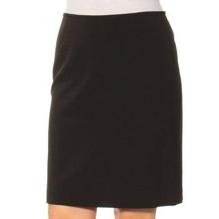 Womens Black Wear To Work Skirt Size 6