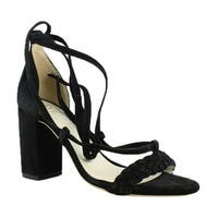 RAYE Womens Black Ankle Strap Sandals Size 6.5