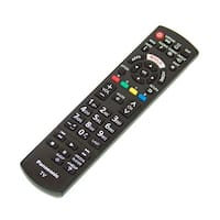 NEW OEM Panasonic Remote Control Specifically For: TC42PX24, TC-42PX24, TCL58E60, TC-L58E60