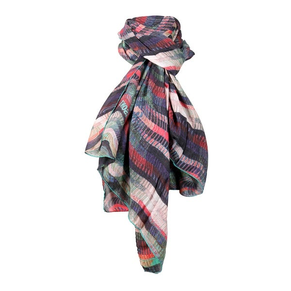 Missoni Blush/Coral Long Wave Signature Scarf - 28-79. Opens flyout.