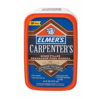 Elmer's E849D8 Carpenter's Wood Filler 16 Oz.|https://ak1.ostkcdn.com/images/products/is/images/direct/f21684bd88ca543ebcab40fc440dee483606a200/Elmer%27s-E849D8-Carpenter%27s-Wood-Filler-16-Oz..jpg?impolicy=medium
